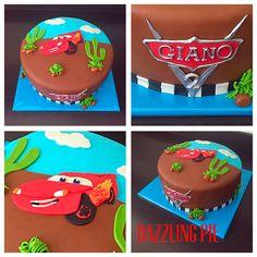 Disney Cars made by Dazzling Pie