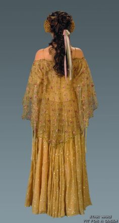 Star Wars Padme Amidala Picnic Dress - Back view I've always wanted to wear this dress...