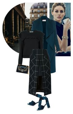 """Turn To Me With Frozen Lips"" by seafreak83 ❤ liked on Polyvore featuring River Island, L.K.Bennett, Philosophy di Lorenzo Serafini, Sacai, Jimmy Choo, skirt, teal, jimmychoo, OliviaPalermo and velvet"