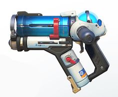 Overwatch Cosplay Prop -- Mei Spray Gun and Tank Version 01