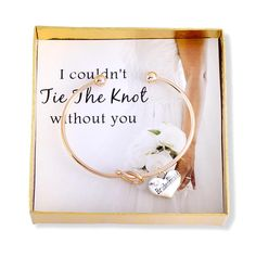 The perfect way to ask your loved one to be part of your big day. Each bracelet comes with an individual box and card as pictured. Charm can also be made to say Maid of Honor. Please feel free to message any questions.
