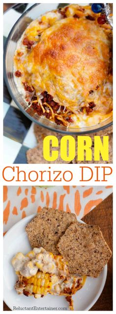 Corn Chorizo Dip