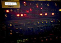Moog Slim Phatty and Roland JP-8000