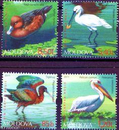 MOLDOVA FLORA | Gibraltar 2011 Endangered Animals Miniature Sheet of Six Stamps…