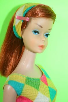 Vintage Color Magic VHTF Ruby/Midnight (Brown Scalp) RARE Find! - NO RESERVE! #Mattel #DollswithClothingAccessories