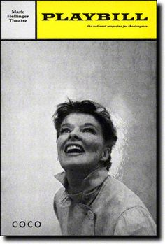December 18, 1969: The musical COCO, starring Katharine Hepburn, opens at the Mark Hellinger Theatre
