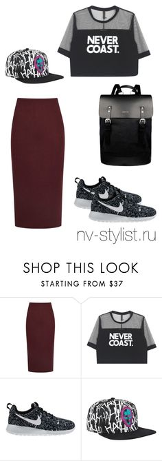 """Без названия #229"" by nv-stylist on Polyvore featuring мода, Reiss, NIKE и Sandqvist"