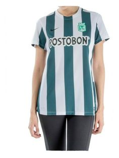 Camiseta Nike M/C Dama Oficial Atlético Nacional 2015