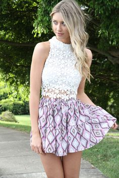 SABO skirt and top! I love their clothing! So fun and cute!