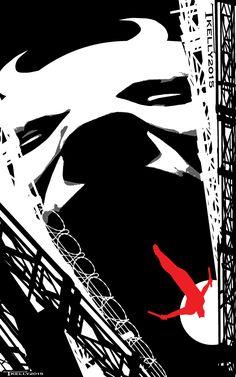 The Devil of Hell's Kitchen by Tom Kelly by TomKellyART on DeviantArt Comic Books Art, Comic Art, Marvel Dc, Marvel Comics, Daredevil Elektra, Creepy Comics, Scorpio Art, The Devil Inside, Dc Comics Heroes