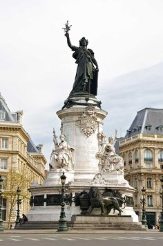 Paris, Place de la Republique