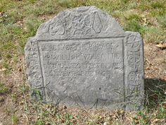Nutfield Genealogy: Tombstone Tuesday ~ William Wilson, buried 1773 in Derry, New Hampshire #genealogy
