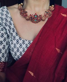 Order Cotton Silk Sarees Online via Whatsapp on Our fashion magazine personal shoppers helps you get the stylish look for you. Latest Cotton Silk Sarees Online Now Sari Blouse Designs, Saree Blouse Patterns, Trendy Sarees, Stylish Sarees, Simple Sarees, Indian Attire, Indian Outfits, Indian Wear, Indian Clothes