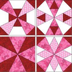 kaleidoscope quilt templates