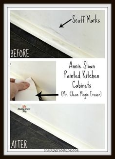 Cleaning of painted plaster kitchen cabinets by Annie Sloan – Shabby Grace – Regular Clean Kitchen Cabinets Annie Sloan Chalk Paint Kitchen Cabinets, Painting Kitchen Cabinets, Kitchen Paint, Cleaning Cabinets, Clean Kitchen Cabinets, Chalk Paint Furniture, Diy Furniture Projects, Diy Projects, Cool Woodworking Projects