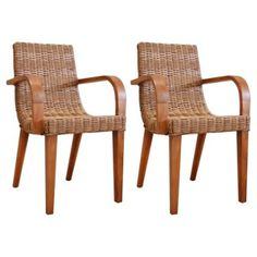 Check out this item at One Kings Lane! Max Dining Armchairs, Pair
