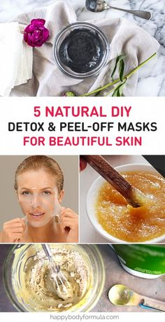 5 Best Scrub & Peel-Off Face Masks to Make At Home 5 Natural DIY Detox & Peel Off Face Masks:<br> Five all-natural, skin-clearing scrub and peel-off face masks that you can make at home with healthy ingredients for blackheads, skin detox and more. Diy Peel Off Face Mask, Diy Face Mask, Peeling Face Mask Diy, Best Peel Off Mask, At Home Face Mask, Homemade Face Masks, Homemade Skin Care, Homemade Facials, Homemade Peel Off Mask