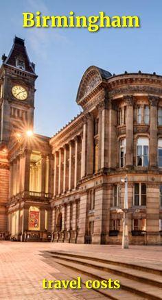 Travel costs for Birmingham