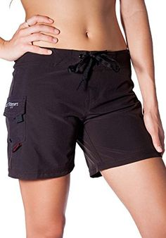 "Maui Rippers Women's 5"" Board Short Stretch Fabric New!"