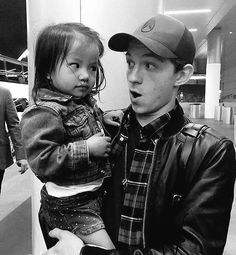 He is melting my heart ❤️ He'd be such a good dad of a child