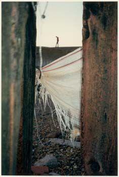 Fay Godwin - Through the Groynes, Beach series, 1987.
