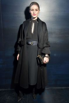Olivia Palermo at Christian Dior Show at 2017 PFW