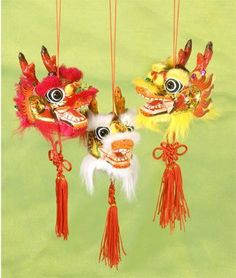 Dragon Wall Hanging . $7.95. Children love the colorful dragon dancer with its bright colors and boundless energy. Bring a little bit of that joy into your home when you hang this festive Dragon Dancer wall hanging as part of your Chinese New Year or party decor. Price is for each Dragon Dancer hanging.