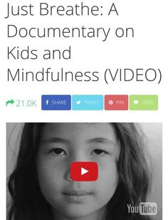 Here's a reminder to breathe. In this video on kids and mindfulness, children use breathing techniques to avoid anger, gain peace, and achieve more smiles! Mindfulness In Schools, Mindfulness For Kids, Social Emotional Development, Social Emotional Learning, Child Development, Anger In Children, Drama Activities, Relax, Just Breathe