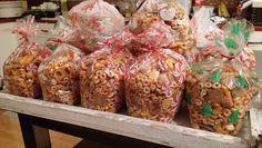 Mmm... nuts & bolts are one of my favorite Christmas treats!  #mybrownbagstudio   #mybrownbagstudioschristmasopenhouse