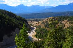 Radium Columbia Valley, Entrance to Kootenay National Park My Happy Place, Columbia, Entrance, National Parks, Outdoors, River, Mountains, Places, Nature