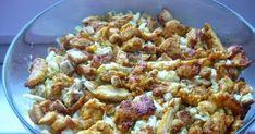 Pyszna sałatka z kurczakiem i grzankami Sałatka z kurczakiem i grzankami SKŁADNIKI: kapusta pekińska -0,5 główki majonez ...