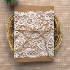 einladung on pinterest hochzeit jute and lace wedding invitations. Black Bedroom Furniture Sets. Home Design Ideas
