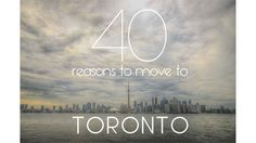 Community Post: 39 Reasons To Move To Toronto Places Around The World, Oh The Places You'll Go, Places To Travel, Places To Visit, Around The Worlds, Ontario, Moving To Toronto, Canada Travel, Canada Trip