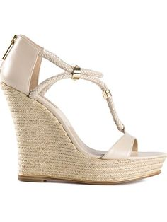 Shop Kors By Michael Kors 'Sherie' wedge espadrilles in Tootsies from the world's best independent boutiques at farfetch.com. Over 1000 designers from 300 boutiques in one website.