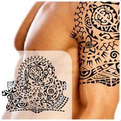 Family support half sleeve tattoo