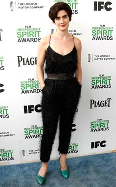 Gaby Hoffman from 2014 Film Independent Spirit Awards: Red Carpet Arrivals | E! Online