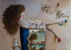 Doll for wall decor, decoración pared, muñeca, perfecta para baño, regalo, gift