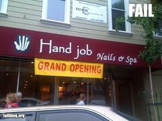 Of all the things they could have named their salon...