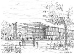 Handmade-Drawings-and-Sketches                  Architectural Illustration                                                        dr...