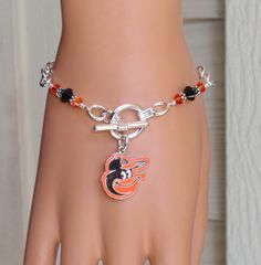 Baltimore Orioles Inspired Black and Orange by scbeachbling, $24.00