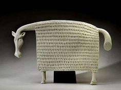 Stig-Lindberg-(Swedish-1916-1982),-Glaze-decorated-Stoneware