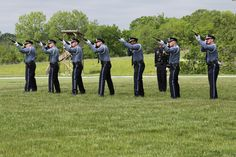 The morning of May 23, 2013, the Kansas City Missouri Police Department had their Annual Memorial Service. Normally held in font of Police Headquarters, it was moved to the Regional Police Academy's athletic field due to Headquarter's construction. The event honors the 119 police officers who have died in the line of duty throughout KCPD's history. It featured a flag displayed for each fallen officer, bagpipers, a 21-gun salute, a riderless horse, a helicopter flyover and more.
