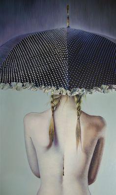 Black Rain ... primer cuadro perfume del mundo. by Renier R Méndez