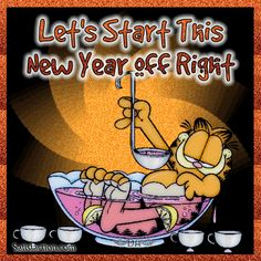 garfield new year pictures - Google Search