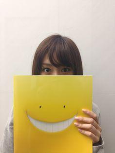 "Mirei Kiritani ""I actually had a secret guest appearance in J movie ""Ansatsu Kyoushitsu (Assassination-Classroom). Find me!"""