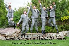 Hip Hip Hooray! We are celebrating our 10 Year Anniversary at Stonebrook Manor. Thank you for a wonderful decade. #StonebrookWeddings