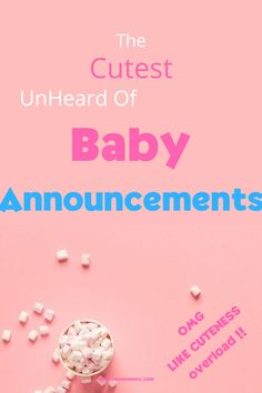 Are you rattling your brain trying to find the perfect pregnancy announcement ideas? View over 20 amazingly cute and creative ideas for 2020 Pregnancy Test, Pregnancy Photos, Pregnancy Announcement To Husband, Gender Announcements, Baby Balloon, Thing 1, Everything Baby, Working Moms, Baby Names
