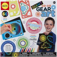 Alex Toys Giant Go Go Gear Art Set