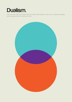 Minimalist Posters on Philosophy  Philographics: OBlog: Design Observer