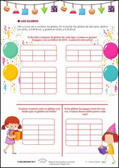 Proyectos ABN / Mates. La fiesta de cumpleaños 🍰 Map, Globes, Note Cards, Party, Blue Prints, Entryway, Bom Dia, Location Map